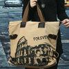 2013 new style fashion canvas hot sale handbag guangzhou bag maunfaturer