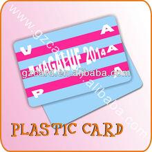 4 color printing plastic credit card