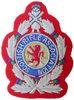 hand Embroidered Bullion Frame Badges / Frame Badge