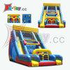 Backyard Inflatable Dual Slip and Slide,Inflatable Bouncing Slide