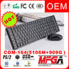 2.4g wireless keyboard and optical mouse combo