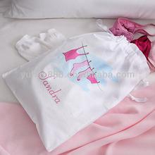 100% cotton lingerie bags