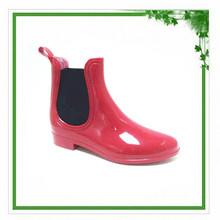 Wholesale 2014 Latest European Style Low Heel Girl Rain Boots