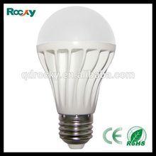 2014 Rocky new product e27 A60 A55 5w 7w 9w LED with CE RoHS