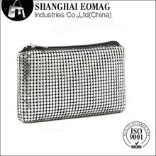 de aluminio de aluminio de la cartera monedero bolsa de aluminio