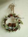 2014 neues design weihnachten kränze dekorationen mit schönen Eulen