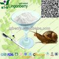 100% souble água pura proteína animal extrato de caracol 60% / caracol secreção extrato