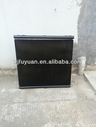 Refrigeration aluminum micro channel heat exchanger coil
