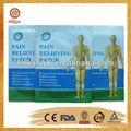 produttore di porcellana qs8001 intonaco capsicum per alleviare il dolore muscolare medico intonaco capsicum