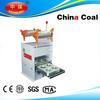plastic cup sealing machine food tray sealing machine