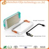 Olja flashing charger mobile phone case for iphone 5s, high speed charge cable case for iphone 5s
