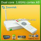 2014 best selling factory price google internet TV Box dual core smart tv box xbmc media player network streamer
