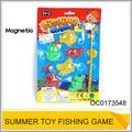 plástico pequeno peixe de brinquedo de plástico crianças magnético jogo de peixes oc0173548