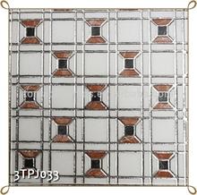 TONIA 30x30 Polished Golden Highlighter Ceramic Wall Tile Moroccan Tiles Decor