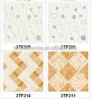 300*300 Foshan bathroom and kitchen floor tiles prices floor tiles in philippines wood look ceramic floor tile