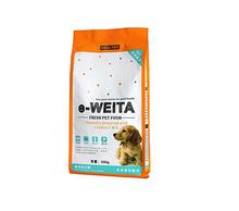 pet dog food bag with resealable zipper