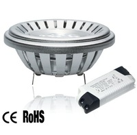 high quality china supplier 15w ar111 gu5.3 cob spot light dimmable,nichia led design lamp