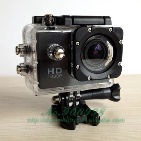 الأصلي! كاميرا رقمية مقاومة للماء sj4000 1080p h. 264 عمل الكاميرا