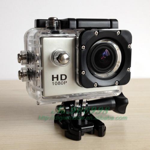 Original! Digital de la cámara a prueba de agua sj4000 1080p h. 264 cámara de acción