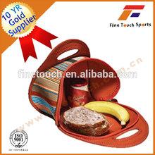 Insulated cooler bag kids neoprene lunch bag