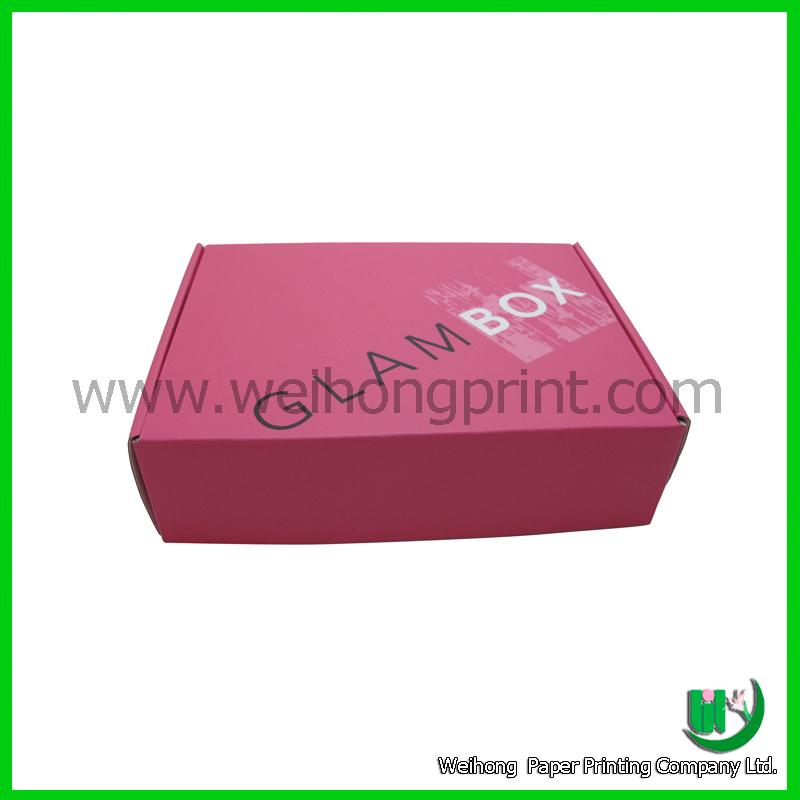 dongguan factory wholesale corrugated custom printed shipping box