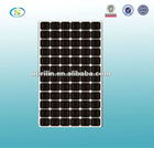 high efficiency 150W Mono crystalline Solar Panel with aluminum alloy frame and junction box,CE,ROHS,TUV certifficates