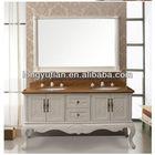 Chinese style bathroom cabinet DRK-J8101/ Solid wood bathroom vanity/Promotion