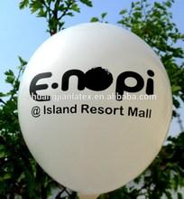 silk-screen printing balloon/ logo customized latex balloon/advertising balloon