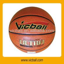 8 panels PU laminated basketball in size 7