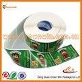 Amovible. custome. personnalisée. pvc auto adhésif autocollant sticker vinyle die cut