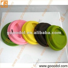 food grade silicone lid for coffee cup