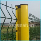 3Dwelded mesh fence (Factory, ISO9001)