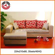 Upholstery fabric sofa antique replica furniture
