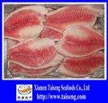shallow désossée et sans peau de filet de poisson tilapia congelés