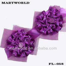 fashion brooch handmake flower fabric corsage/brooch garment accessory(FL-058)