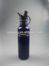 metal water bottle with lanyard