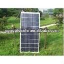 130W PV medium model solar panels