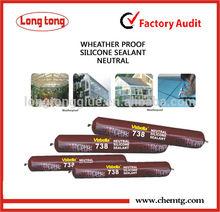 738 Weatherproof Waterproof Adhesive Silicone Sealant