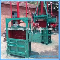 Professional vertical hydraulic baler press machine for raw wool/baler for wool