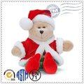 la promoción de alta calidad de moda la venta de la parte superior de navidad de la felpa muñeca