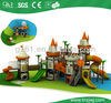 2014 guangzhou factory commerical kids plastic slide outdoor playground equipment