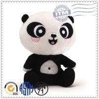 2014 China popular sales plush animal promotion toy diy stuffed toys panda