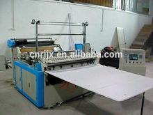 Computer Heat-sealing & Cold-cutting Single line Bag Rolling making Machine