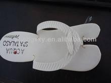 eva foam disposable slipper/eva hotel flip flop/eva spa flip flop slipper