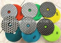 """4"""" Dry Diamond flexible Polishing Pad for granite"""
