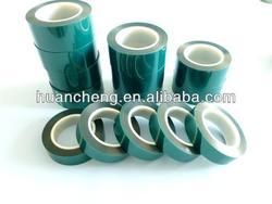 powder coating tape/green PET tape for masking