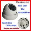 Hot Sony 650TVL Security CCTV Dome Camera