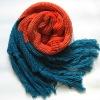 fold scarf solid color pashmina scarf