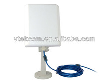 VN-1510 150M Outdoor High Power USB wifi Adapter with 1000mw and 14dBi Antenna 0009