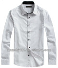 High quality Stripe 100%Cotton business/dress shirt for men with square collar and six corners cuff and S,M,L,XL,XXL